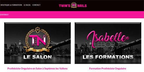 Twins nails pour vous servir