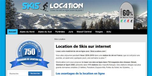 Pour louer vos skis moins cher